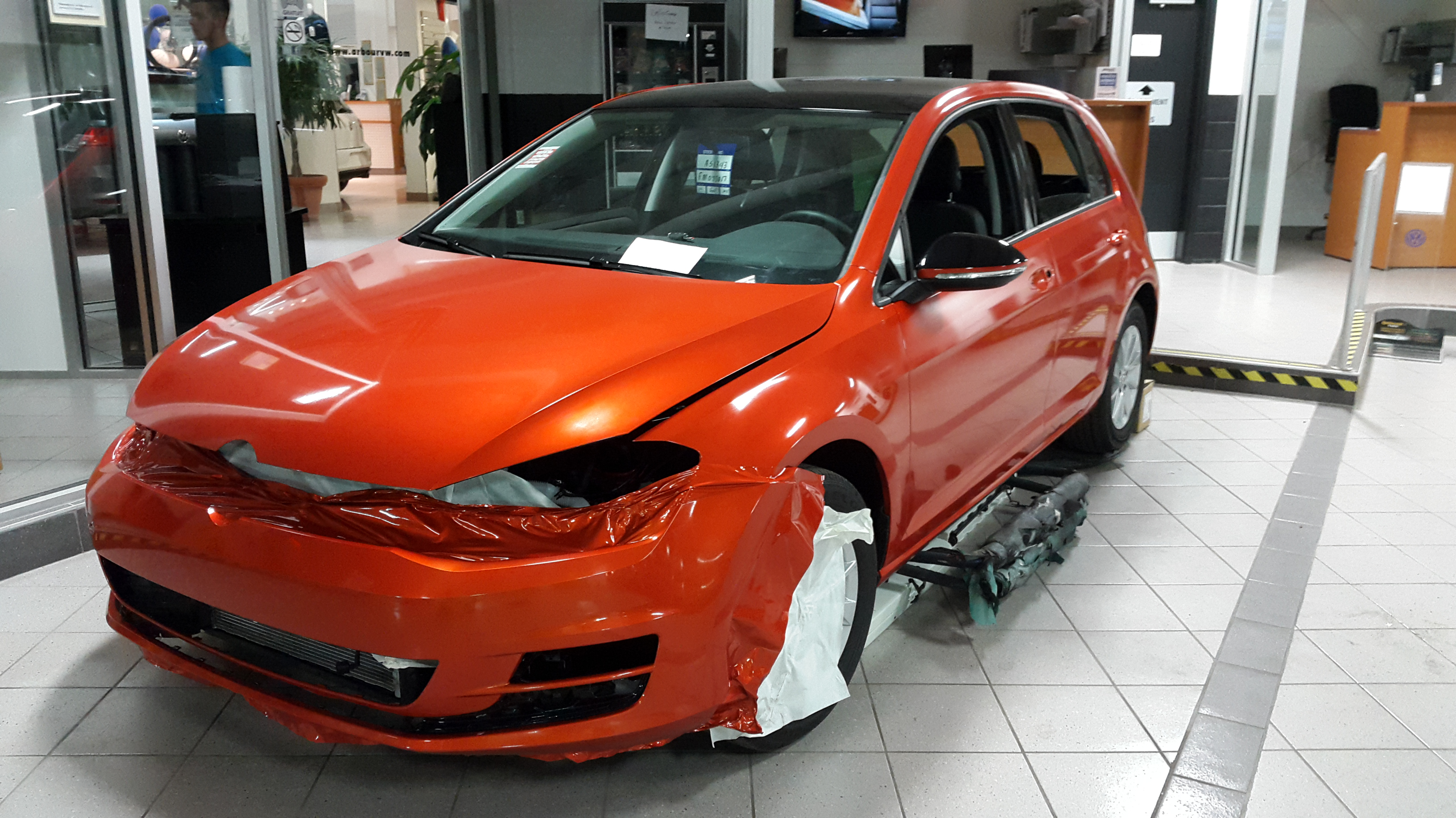 Volkswagen Golf Tsi Vinyl Wrap Topwrap Ca Top Wrap Vinyl Wrap Commercial Graphics And Film Specialists
